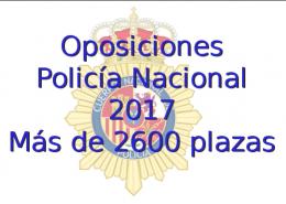 oposciones a policia naciona 2017 en Guadalajara